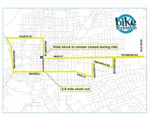 Bike Lexington Map