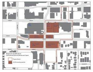 Theatre District Map