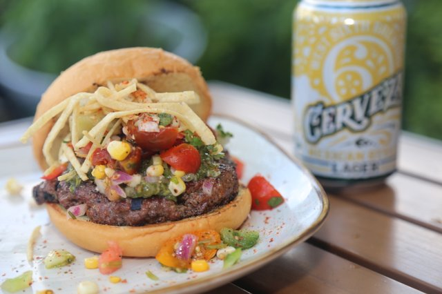 The Summer Kentucky Darling Burger