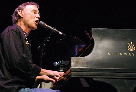 Halcyon Days, Bruce Hornsby performs at Cain Park in Cleveland.
