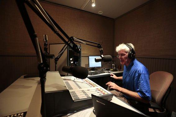 John Fry, Volunteer DJ (Sound booth)
