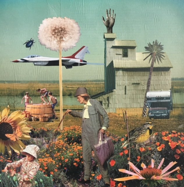 Community Gallery - Altered Realities - Everyone was Curious about the Giant Dandelion in Gertrude's Field - Connie Estes Beale.jpg