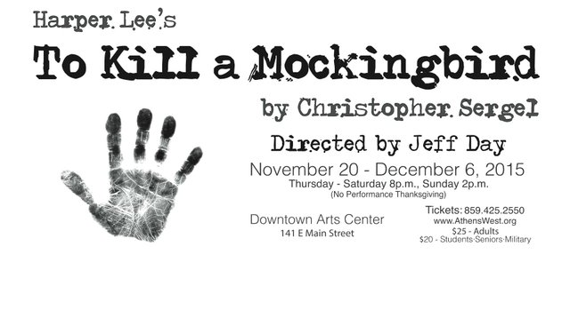 "Athens-West Theatre Co. presents ""To Kill A Mockingbird"""
