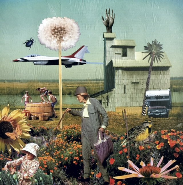 Altered Realities - Everyone was Curious about the Giant Dandelion in GertrudeΓÇÖs Field - Connie Estes Beale.jpg
