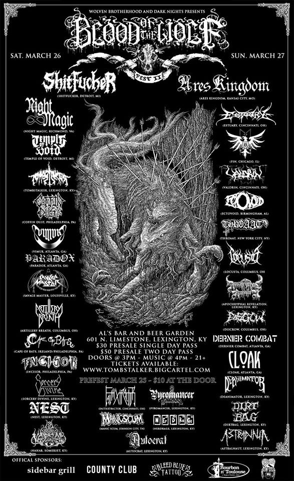 Blood Of The Wolf Fest II