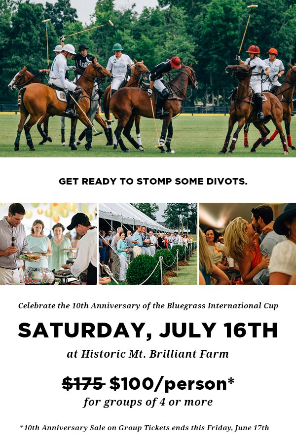 10th Annual Bluegrass International Cup Polo