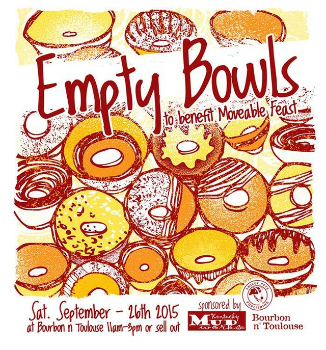 Empty Bowls: A Benefit for Moveable Feast