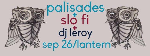 Palisades/ Slo Fi/ DJ Lee Bryant