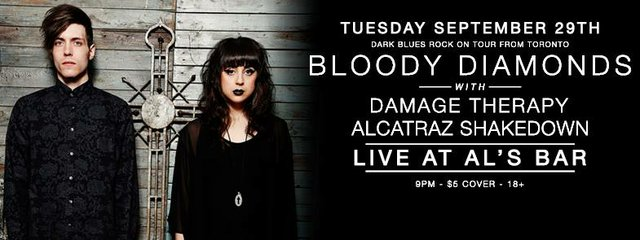 Bloody Diamonds/ Damage Therapy/ Alcatraz Shakedown