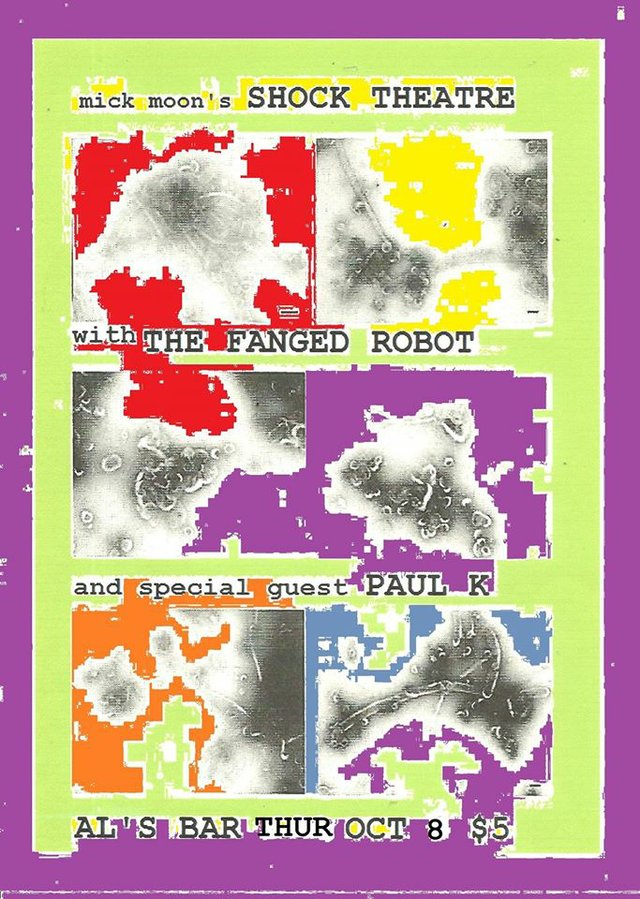 Nick Moon's Shock Theatre/ Fanged Robot/ Paul K