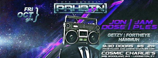 5th Annual PRHBTN Party