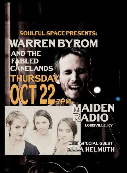 Warren Byrom and The Fabled Canelands/ Maiden Radio