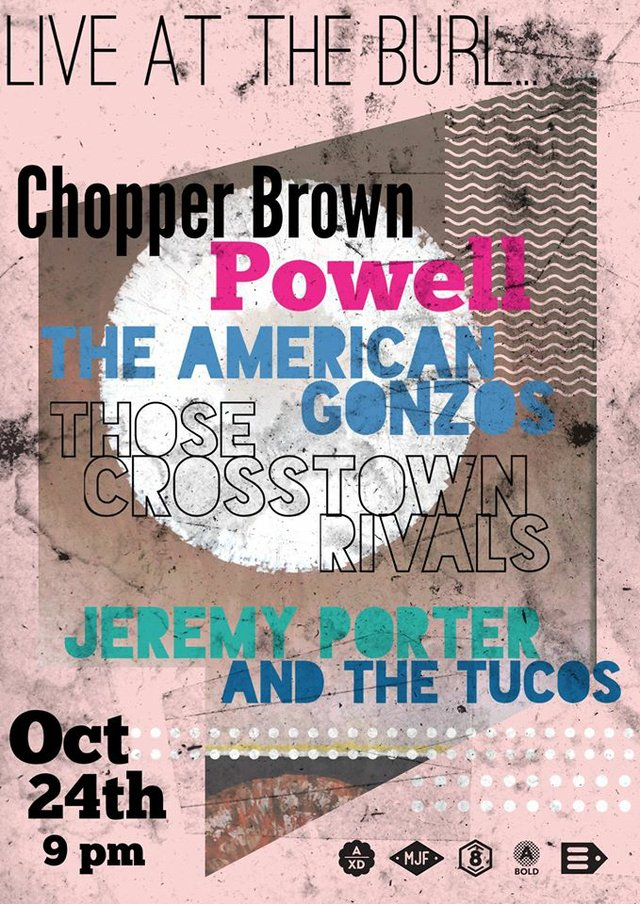 Those Crosstown Rivals/ Chopper Brown/ Jeremy Porter