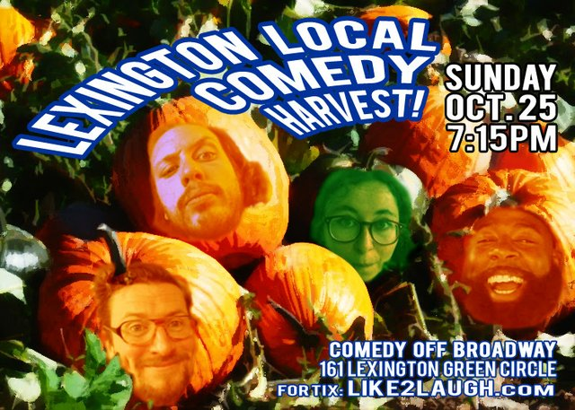 Lex Local Comedy Harvest