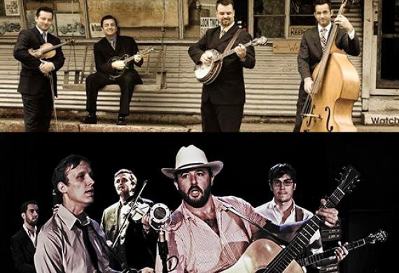 The Travelin' McCourys and Town Mountain on The Kentucky Ale Stage (Breeders' Cup Festival)