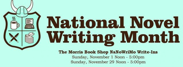 National Novel Writing Month Write-In