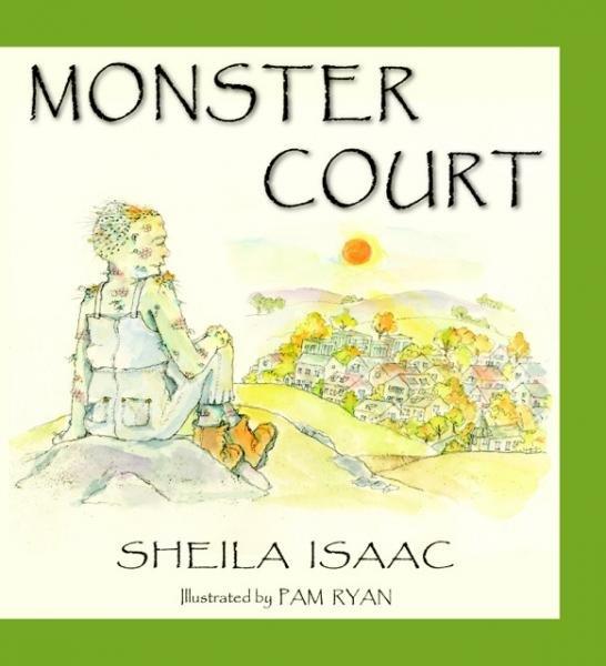 """Sheila Isaac signs """"Monster Court"""""""