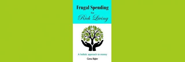 "Gena Bigler discusses and signs ""Frugal Spending for Rich Living"""