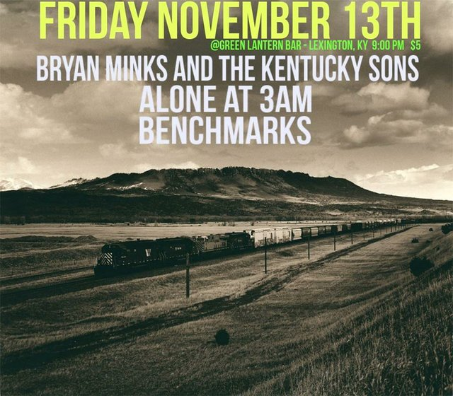 Bryan Minks and The KY Sons/ Alone at 3AM/ Benchmarks