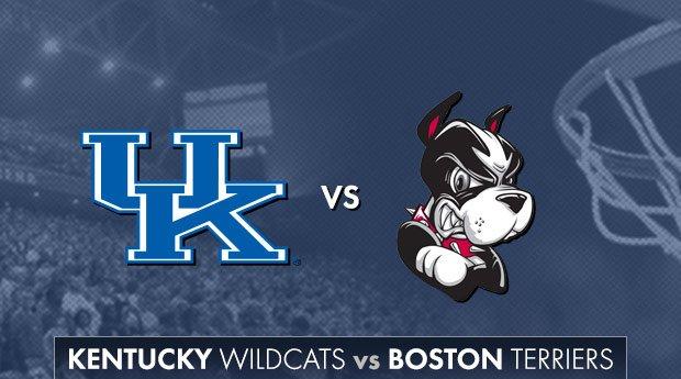 Basketball: UK vs. Boston University