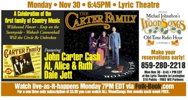 WoodSongs: Carter Family Celebration