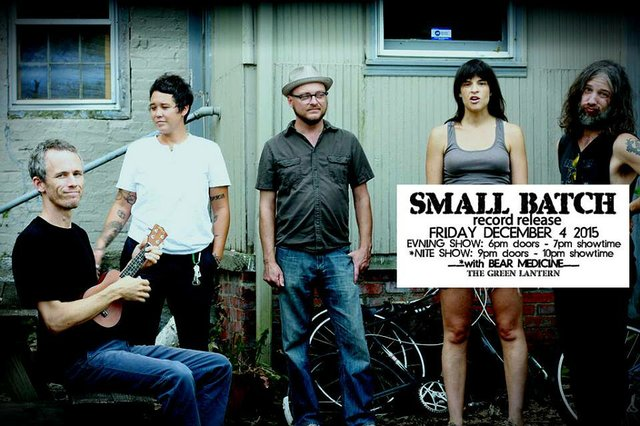 Small Batch Record Release Show