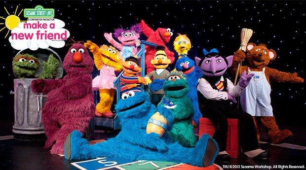 Sesame Street Live : Make a New Friend