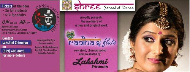 Radha'Flute Dance Performance