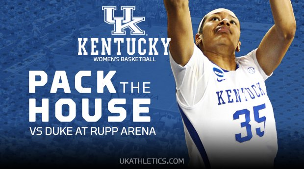 Women's Basketball: UK Hoops vs Duke