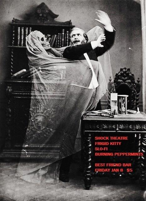 Shock Theatre/ Fridgidkitty/ Slo-Fi/ Burning Peppermints