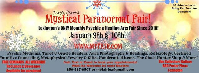 The Mystical Paranormal Fair