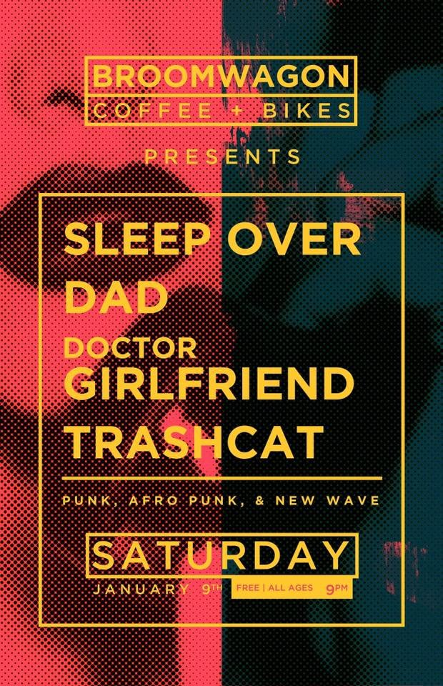 Trashcat/ Dad/ Doctor Girlfriend/ Sleep Over