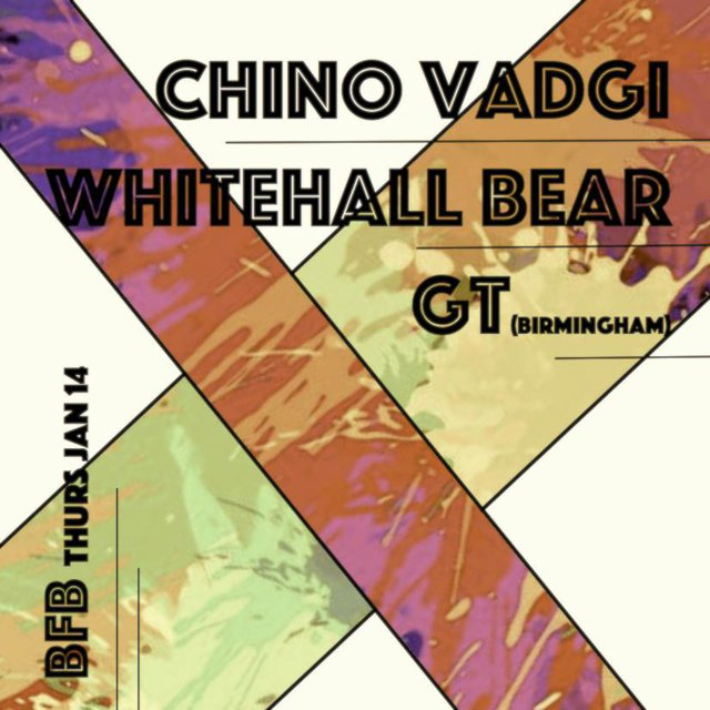 Chino Vadgi/ Whitehall Bear/ GT