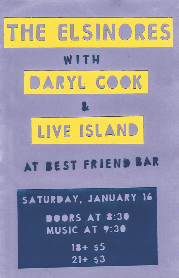 The Elsinores/ Daryl Cook/ Live Island
