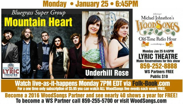 WoodSongs: Mountain Heart/ Underhill Rose