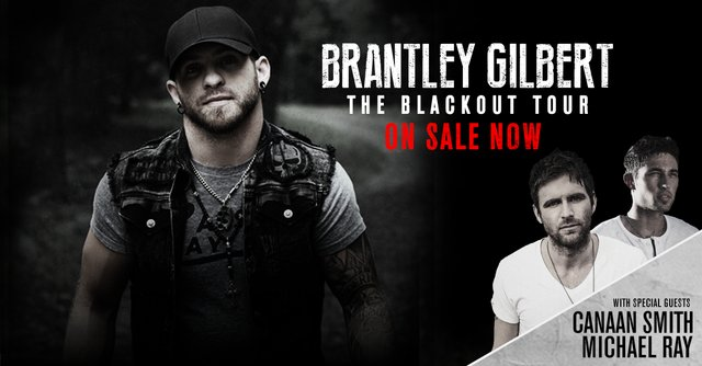 Brantley Gilbert: Black Out Tour