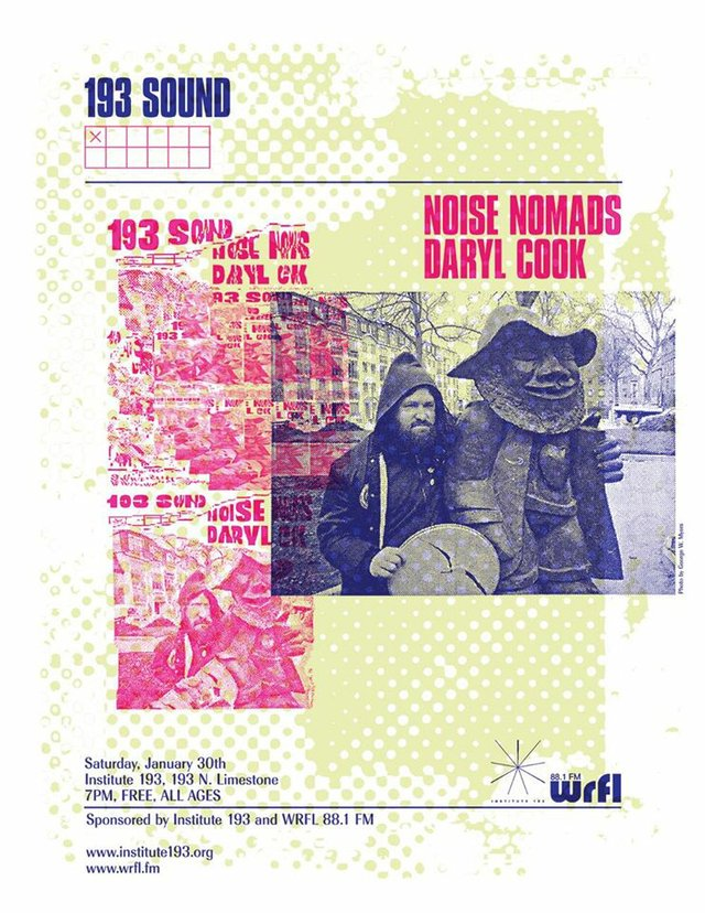 193 Sound   WRFL Present: Noise Nomads/ Daryl Cook
