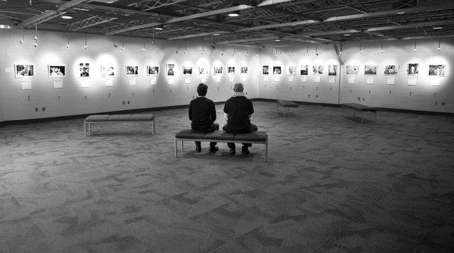"Artist Reception: ""Becoming Human"""