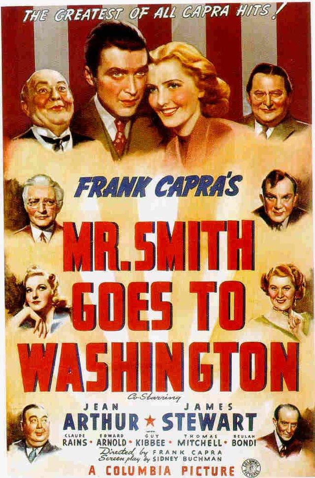 "Summer Classic Film Series: 'Mr. Smith Goes to Washington"""