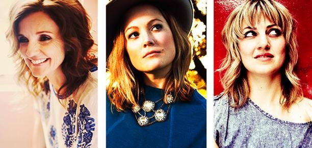 Patty Griffin, Sara Watkins and Anais Mitchell