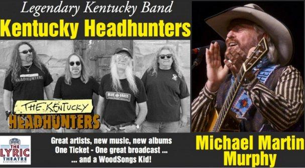 WoodSongs: Kentucky Headhunters/ Michael Martin Murphy