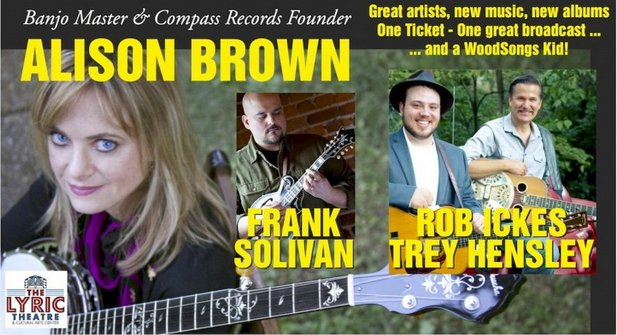 WoodSongs: Alison Brown/ Trey Hensley and Rob Ickes