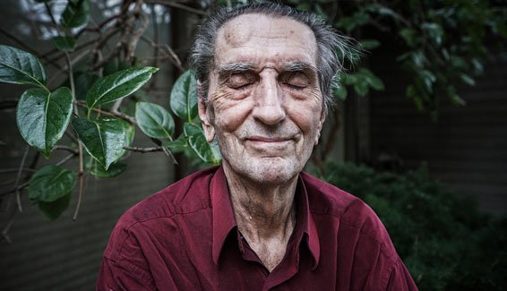 Harry Dean Stanton at Home