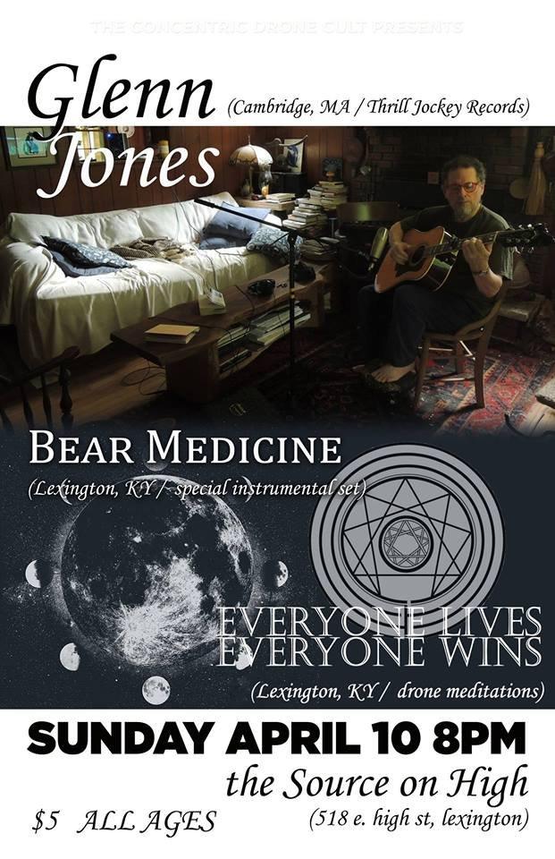 Glenn Jones/ Bear Medicine/ Everyone Lives Everyone Wins