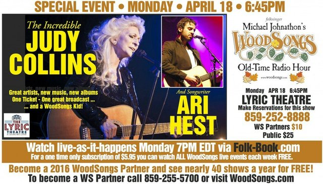 WoodSongs: Judy Collins
