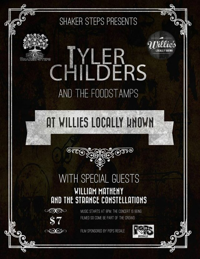 Tyler Childers and The Foodstamps/ William Matheny and The Strange Constellations