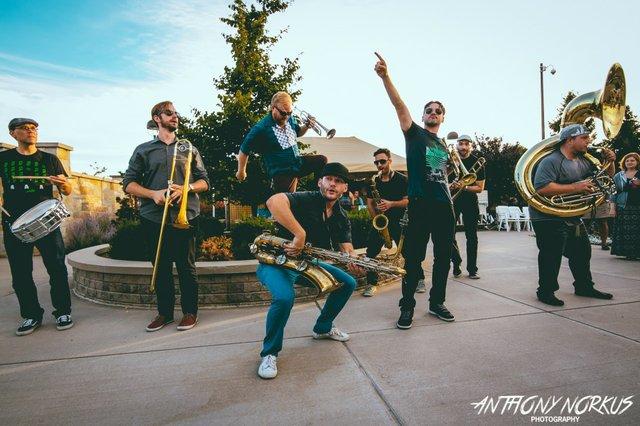 LowDown Brass Band/ March Madness Marking Band