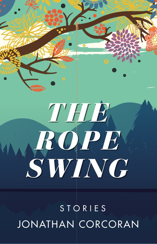 Carter Sickles and Johnathon Corcoran sign 'The Rope Swing'