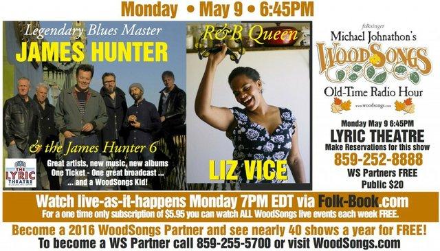 WoodSongs: The James Hunter Six/ Liz Vice