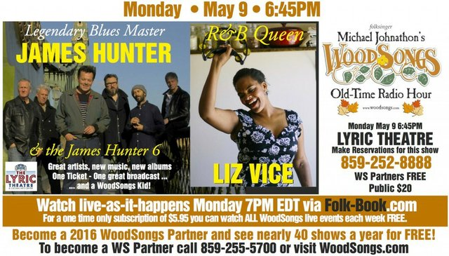 WoodSongs: The James Hunter Six/ Liz Vice